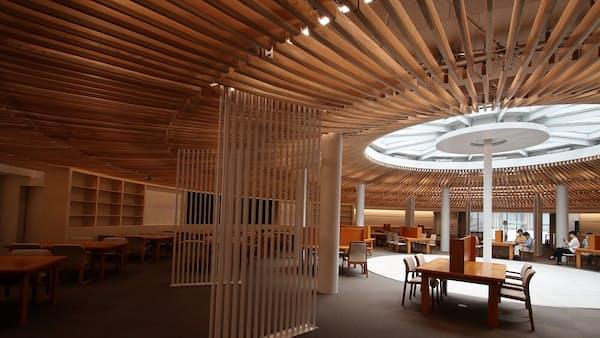 地下46mに300万冊納める東大の新図書館