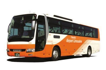 無料の公衆無線LANサービスが始まるリムジンバス(出所:東京空港交通)