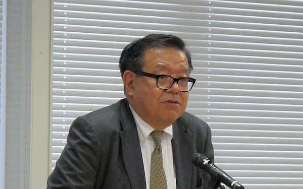 理事長に選任された村井氏