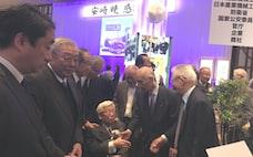 「まねできない終活」 コマツ元社長が笑顔で生前葬