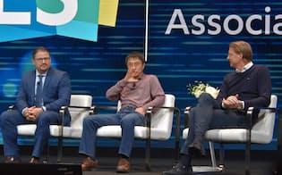 CESで開催された「5G」に関するパネルディスカッションの様子。通信業界だけでなくサービス事業者も参加したのが特徴だ。