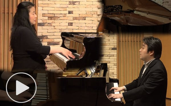 2台ピアノでモーツァルトのピアノ協奏曲