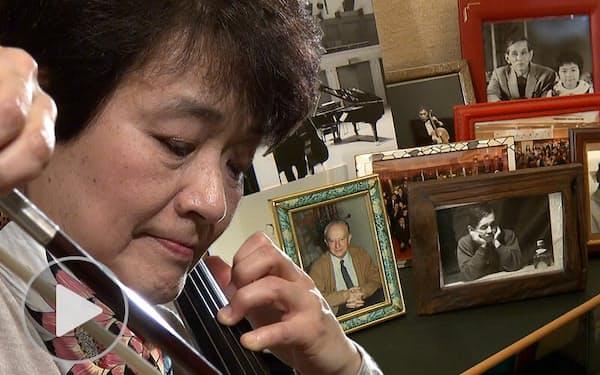 チェリスト山崎伸子 10年公演の次はバッハ