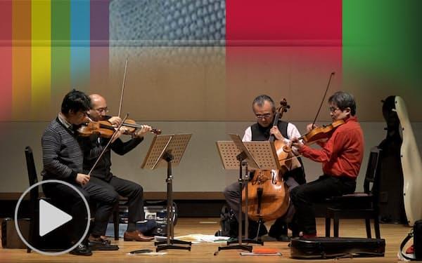 プログレ弦楽四重奏団モルゴーアが25周年