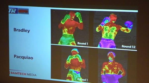 ボクシング選手のダメージ、カメラとAIで可視化