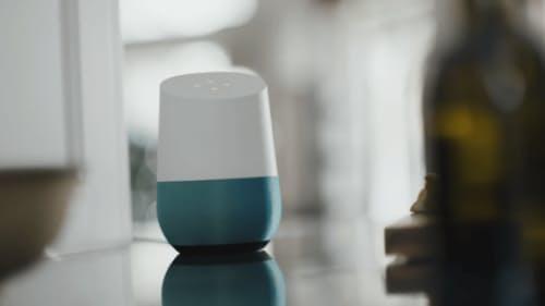 グーグルのグーグルホーム (C)Google