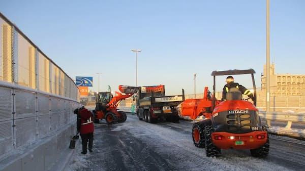 首都高、大雪の立ち往生へ再発防止策
