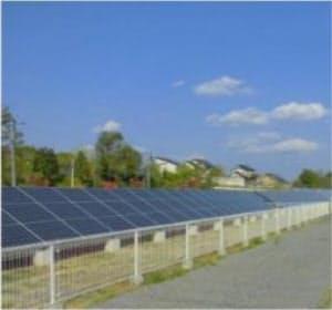 白河市内の太陽光発電所(出所:みやまスマートエネルギー)