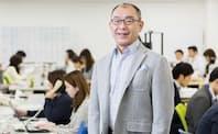 ソフトブレーン・フィールドの木名瀬 博社長