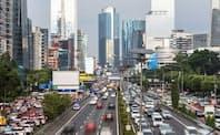 アジアのインフラ需要は根強い(ジャカルタ市内)