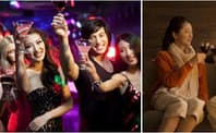 仲間とにぎやかに(写真左)、夫婦で和やかに…アルコール飲料を例にとっても消費される「オケージョン」は多様だ