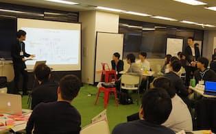 17年12月にパーソルキャリアが都内で開催した「データサイエンティスト ハッチングフェス」