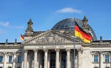 19世紀成立のドイツ帝国の宗教政策が今日の主要政党のルーツと関係している(ベルリンの国会議事堂)