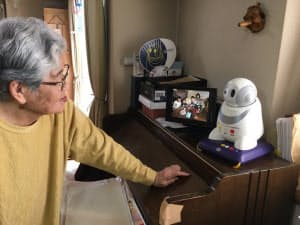 高齢者自宅での利用イメージ(出所:NEC)