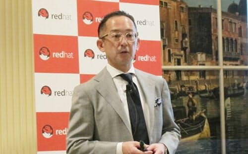 レッドハットの望月弘一 代表取締役社長