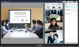 ネオジャパンのグループウエア「desknet's NEO 5.0」の「ウェブ会議」機能(出所:ネオジャパン)