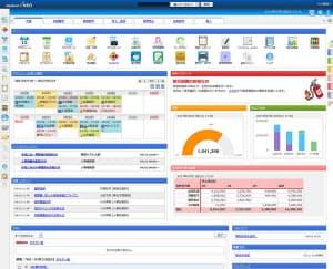 desknet's NEO 5.0のトップページ(出所:ネオジャパン)