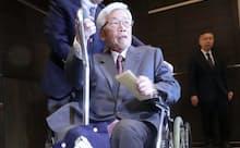 安崎氏は末期がんで亡くなる前に「感謝を伝える会」を開き友人や仕事関係者約1000人が集まった(昨年12月、都内のホテル)