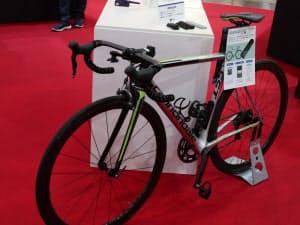 ネクストスケープがデモ用に用意した自転車