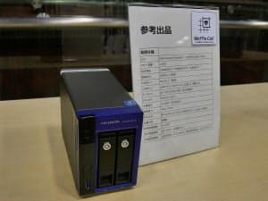 アイ・オー・データ機器が開発・検証中のWaffle Cell v2搭載サーバー