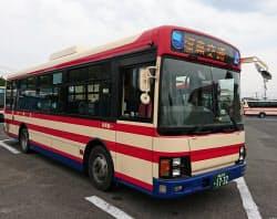 みちのりHDは経営不振のバス会社を次々に買収して再建(福島交通のバス)