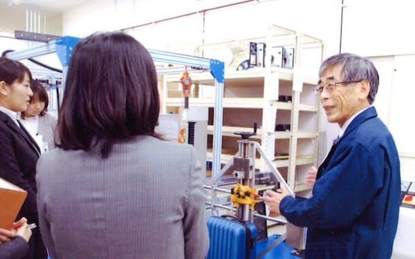商品力向上に貢献してくれたホンダ出身の杉山さん(右)