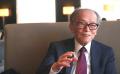 外山滋比古さんは「新聞の株式欄の数字が目の前で動き出したように感じて、『株って生き物だな』と思った」と話す。(撮影:川田雅宏)