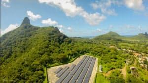 フェルナンド・デ・ノローニャ島に導入されている太陽光発電設備(出所:Neoenergia)