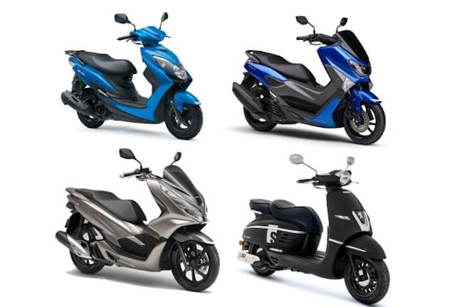大人が乗るにふさわしいルックスや品質感を備えた125ccスクーター