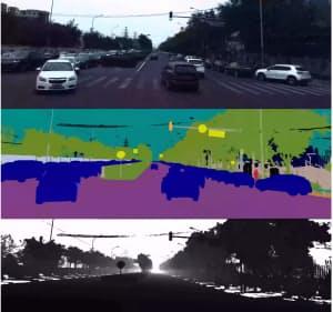 アポロスケープは「画像セグメンテーション」という技術を使ってビデオ画像をピクセルごとに分割し、精緻な処理を可能にする