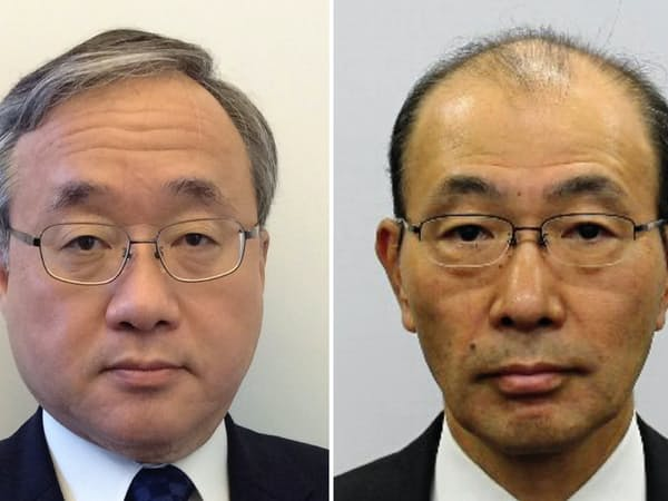 政府は財務次官に岡本薫明主計局長(左)、国税庁長官に藤井健志同庁次長を起用する方向で最終調整に入った