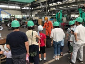 東京急行電鉄が開催した車両工場見学イベントの様子(出所:東京急行電鉄)