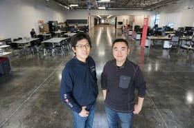トレジャーデータの太田一樹氏(左)と芳川裕誠氏(右)