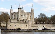 かつて反逆者らを収容していたロンドン塔にエリザベス1世も幽閉されていた