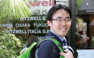 高荷智也さん(35歳)。エンファクトリー ウェブディレクター兼防災専門家