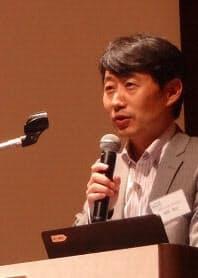 LINC代表を務める京都大学大学院医学研究科の奥野恭史教授