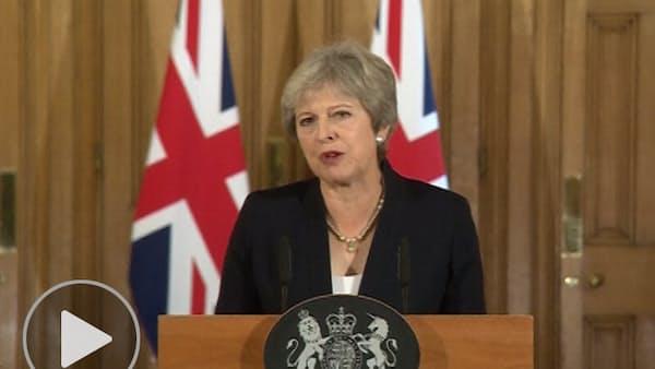 メイ英首相「離脱交渉行き詰まり」 EUに代替案要求