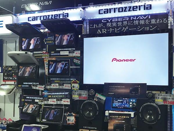 市販のカーナビ「カロッツェリア」は根強い人気を誇るが…