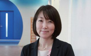 永岡恵美子さん(46歳)。サイボウズ プロデューサーと第一勧業信用組合アドバイザーを両立する