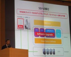 楽天モバイルネットワークは5Gの仮想化アーキテクチャーを先取りしたネットワークを構築中とアピール