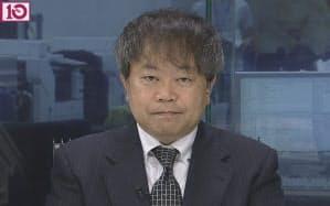 小栗・日経ヴェリタス編集長(10月10日出演)