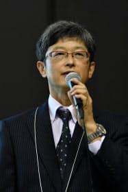 マツダ統合制御システム開発本部首席研究員の足立智彦氏(撮影:中村宏)