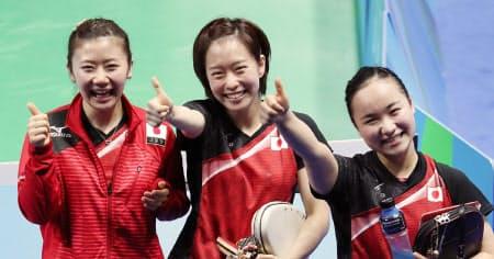 ロンドン五輪で団体銀メダル、リオ五輪で団体銅メダル(写真)を獲得するなど、名実ともに長く日本の「顔」だった