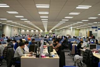 Klabは東京・六本木のオフィスを拡大し、開発人員を大幅に増やしている