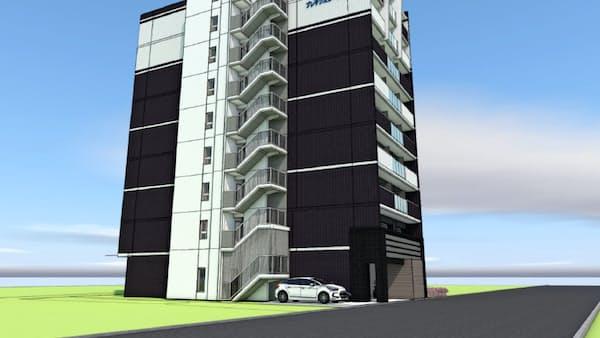 プレサンス、大阪・新今宮に民泊専用ビル 需要減ならマンションに転換