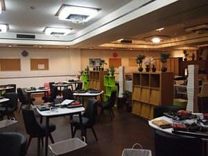 観洋の地下に設けられたコミュニティ・ラーニング・センター。パソコンや英会話をはじめ、スキルアップにつながる様々な教室を開講する。年齢や性別を問わず皆が楽しめるイベントも随時開催する予定だ