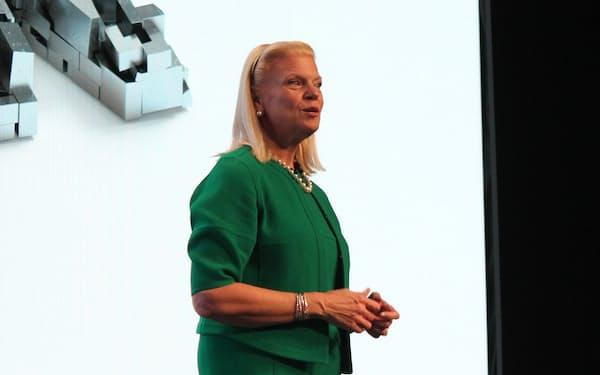米IBMのバージニア・ロメッティ会長兼社長兼CEO