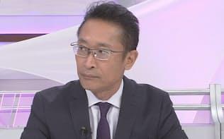 八田亮一・メディア戦略部長(11月12日出演)