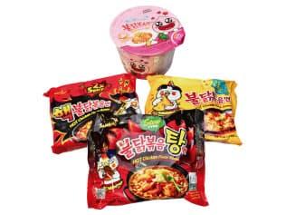 韓国の激辛即席麺