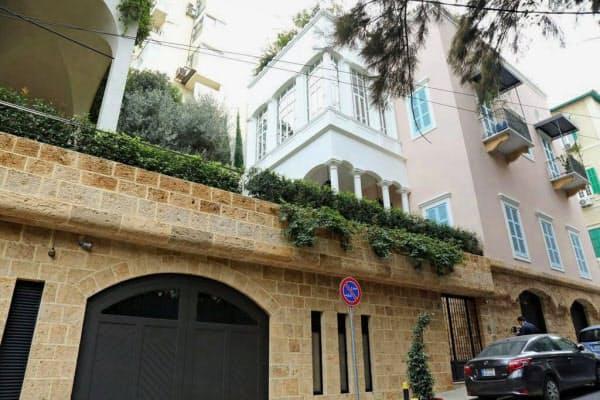 ゴーン会長が使用していたレバノン・ベイルートの邸宅(21日)=共同